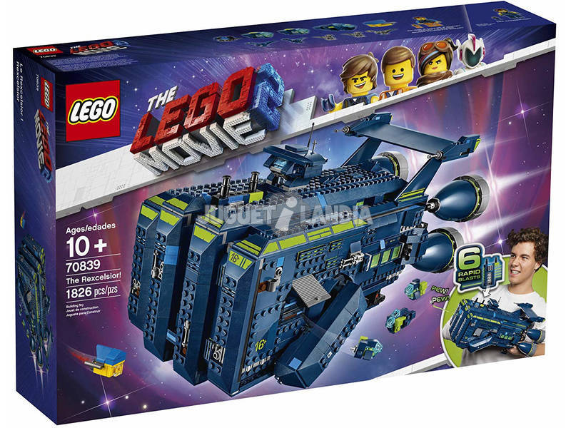 Lego Exclusivas Lego Movie 2 Rexcelsior 70839