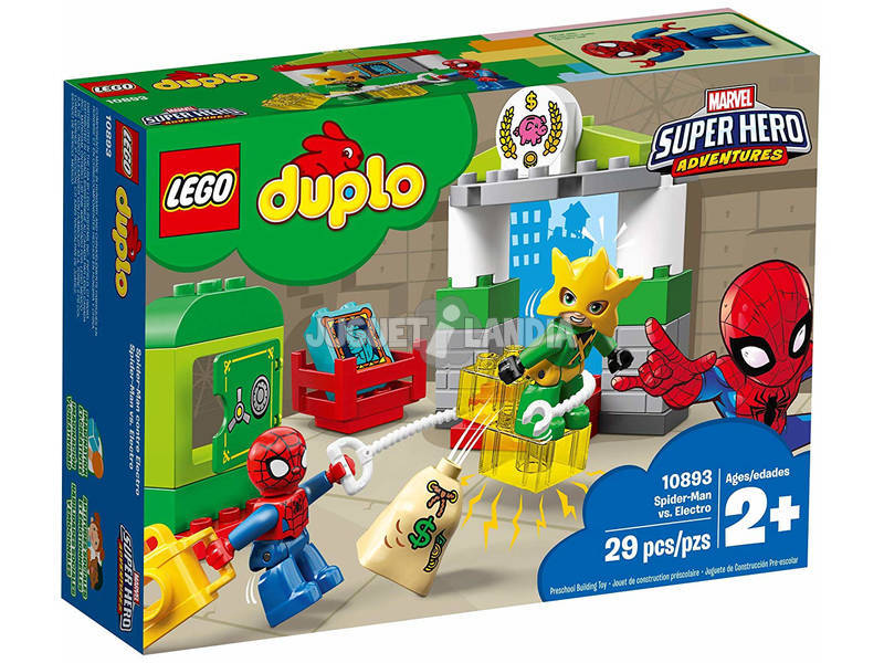 Lego Duplo Spider-man vs Electro 10893