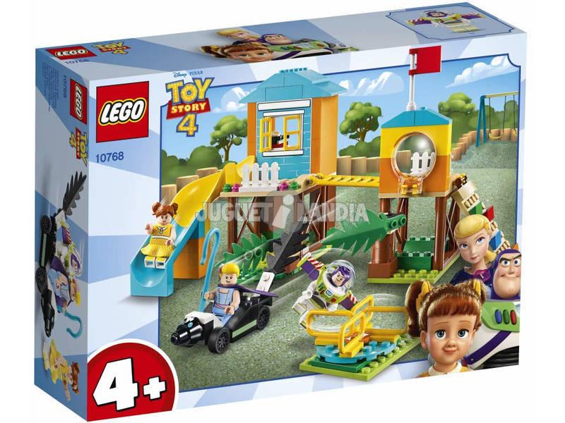 Lego Juniors Toy Story 4 Aventura en el Parque de Juegos de Buzz y Bo Peep 10768