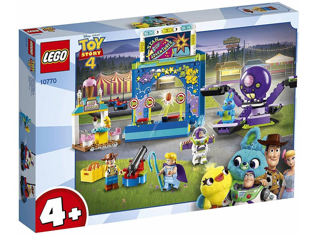 Lego Juniors Toy Story 4 Buzz y Woody Locos por la Feria 10770