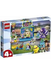 Lego Juniors Toy Story 4 Buzz et Woody Fous de la Foire 10770