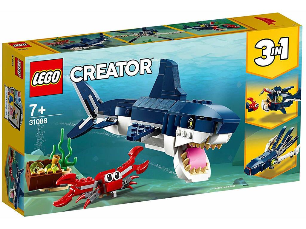 Lego Creator 3 em 1 Criaturas do Fundo Marino 31088