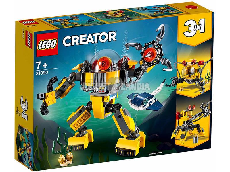 Lego Creator 3 em 1 Robô Submarino 31090