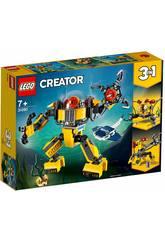imagen Lego Creator 3 en 1 Robot Submarino 31090