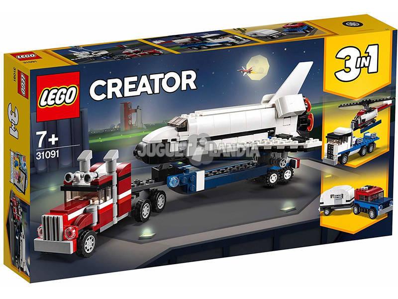 Lego Creator 3 en 1 Transporte de la Lanzadera 31091