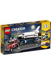 imagen Lego Creator 3 en 1 Transporte de la Lanzadera 31091