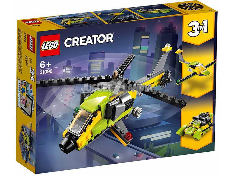 Lego Creator 3 em 1 Aventura de Helicóptero 31092