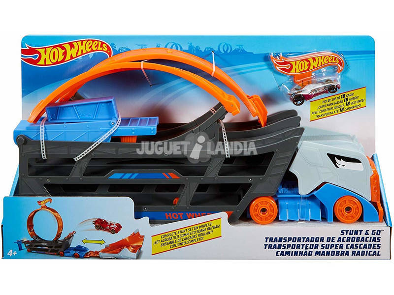 Hot Wheels Camião de Transporte Superacrobacias Mattel GCK38
