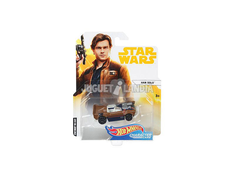 Hot Wheels Coches Caracterizados Star Wars Mattel FJF77