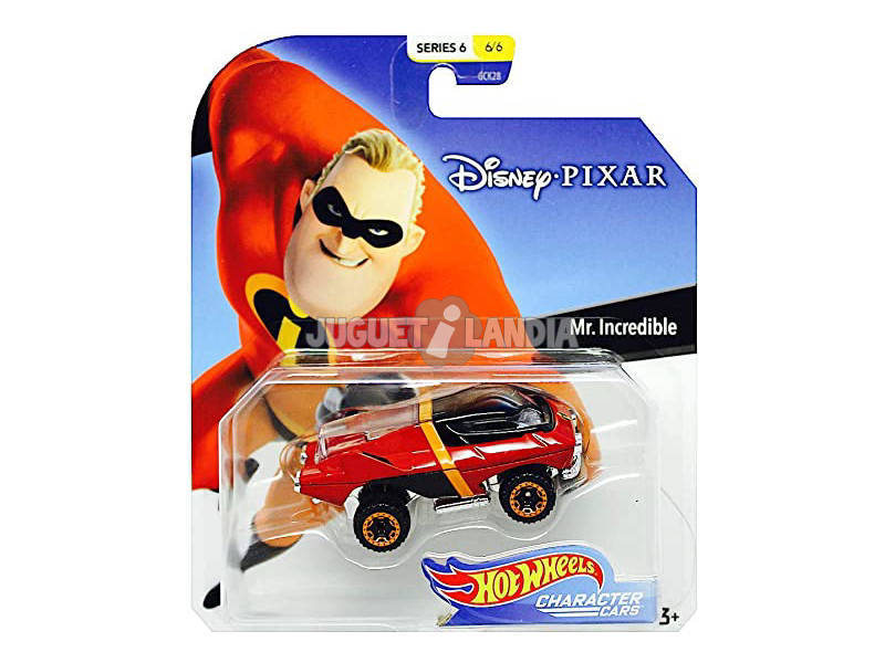 Hot Wheels Coches Caracterizados Disney Mattel GCK28