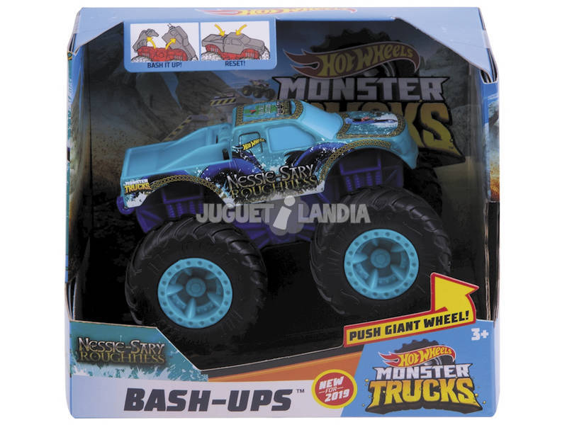 Hot Wheels Veículos Monster Truck Súper Choque Mattel GCF94