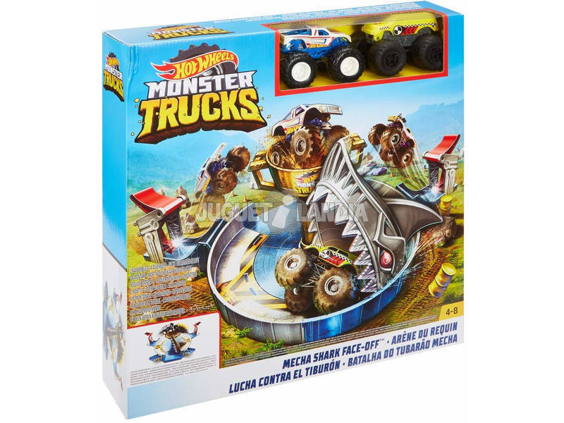 Hot Wheels Monster Truck Luta Contra O Tubarão Mattel FYK14