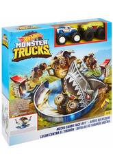 Hot Wheels Monster Truck Luttre Contre le Requin Mattel FYK14