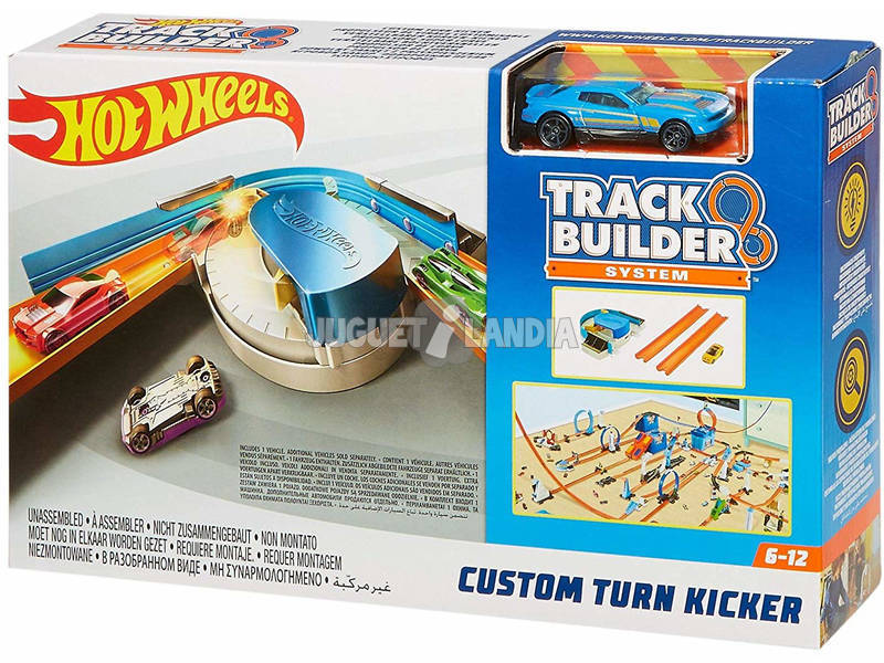 Hot Wheels Trackbuilder Kit Curva Regolabile Mattel FPG95