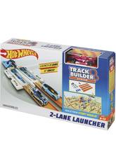 Hot Wheels Track Builder Double Lanceur Compétition Mattel DJD68