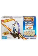 Hot Wheels Track Builder Looping Mit Werfer Mattel DMH51
