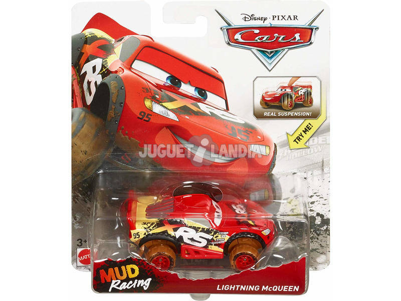 Cars XRS Mud Racing Mattel GBJ35