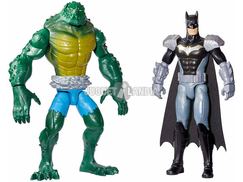Batman e Killer Croc Playset con Due Personaggi Mattel GCK70