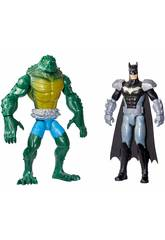 Batman Pack Batman Contra Killer Croc Mattel GCK70