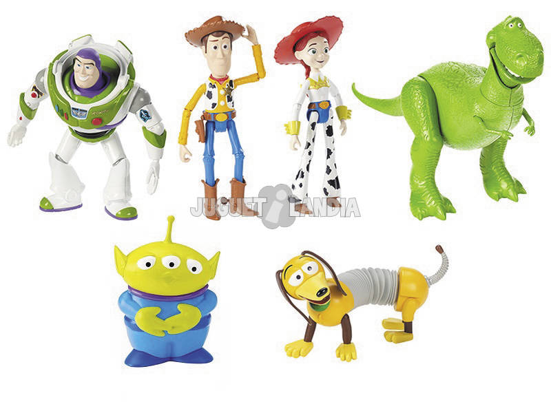 Toy Story 4 Pack 6 Figurines de Base Mattel GCV73