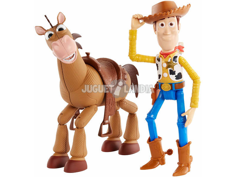 Toy Story 4 Pack Aventuras Woody e Bala no Alvo Mattel GDB91