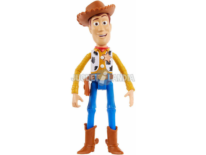 Toy Story 4 Figura Woody Falante Mattel GGT31