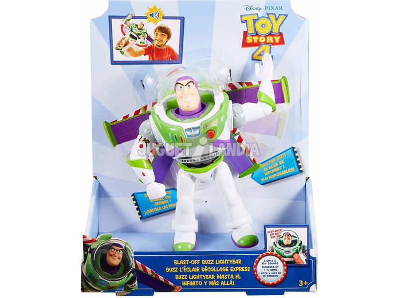 Toy Story 4 Buzz ¡Hasta el Infinito y Más Allá! Mattel GGH41