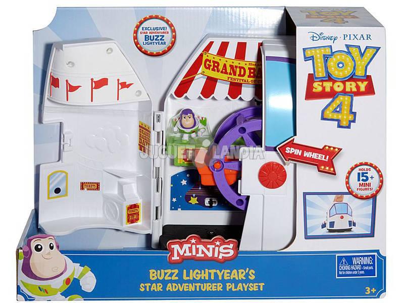 Toy Story 4 Mini Buzz Lightyear Aventuras En La Feria Mattel GCY87