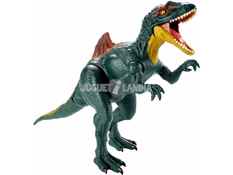 Jurassic World Dinosaurio Ataque Doble Mattel GDT38