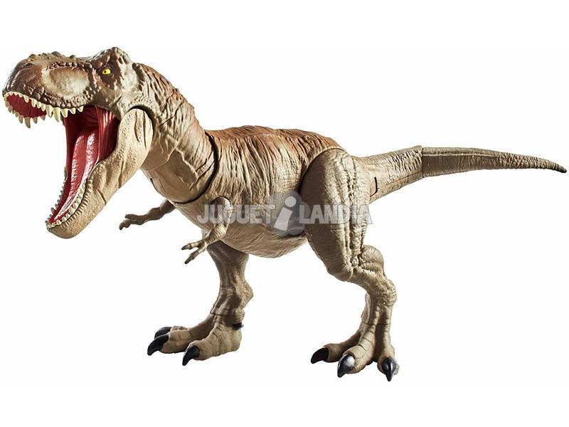 Jurassic World T-Rex Mega Attacco Mattel GCT91
