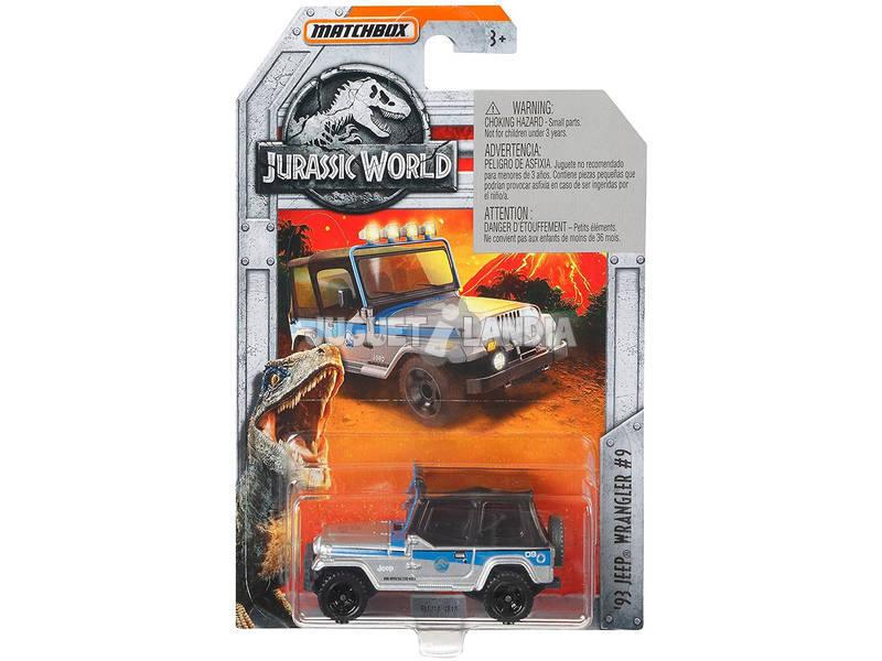 Jurassic World Veicolo, Multicolore Mattel FMW90