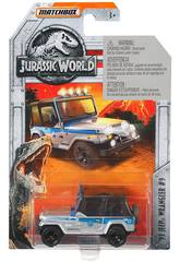 imagen Jurassic World Vehículo Die Cast Mattel FMW90
