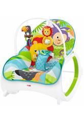Fisher Price Hamaca Crece Conmigo Safari Mattel FML56