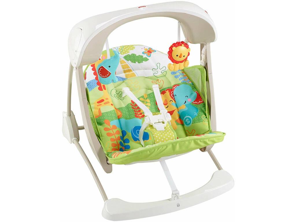 Fisher Price Baby Gear Seggiolino Altalena Salvaspazio Mattel CCN92