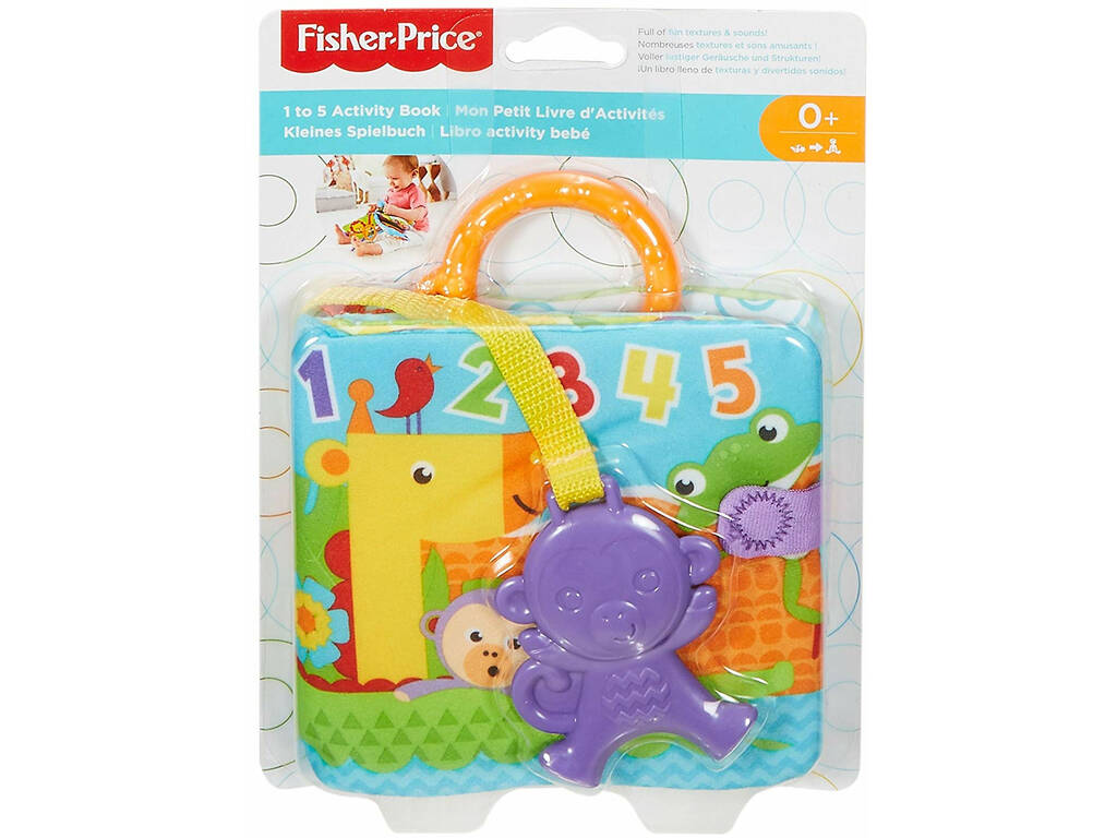 Fisher Price Libro Activity Bebé Mattel FGJ40