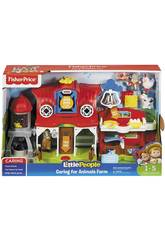 Fisher Price Little People Granja Cuida aos Animais Mattel FKD00