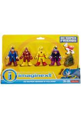 Imaginext Figurines DC Héros et Méchants Mattel CMX23