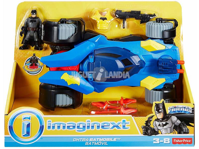 Imaginext Batmobile Deluxe DC Comics Mattel DHT64