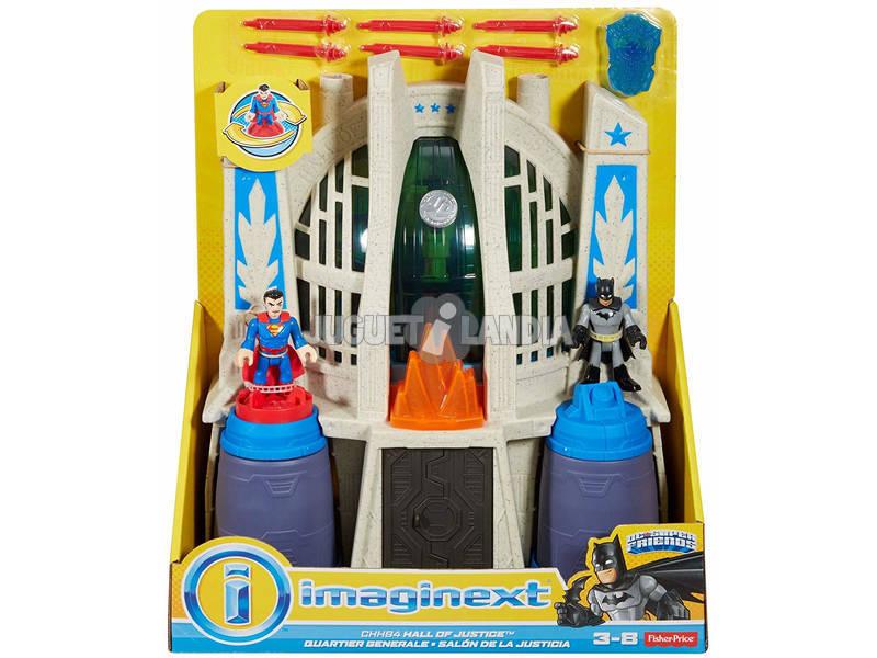Imaginext Batman Salón De La Justicia Mattel CHH94