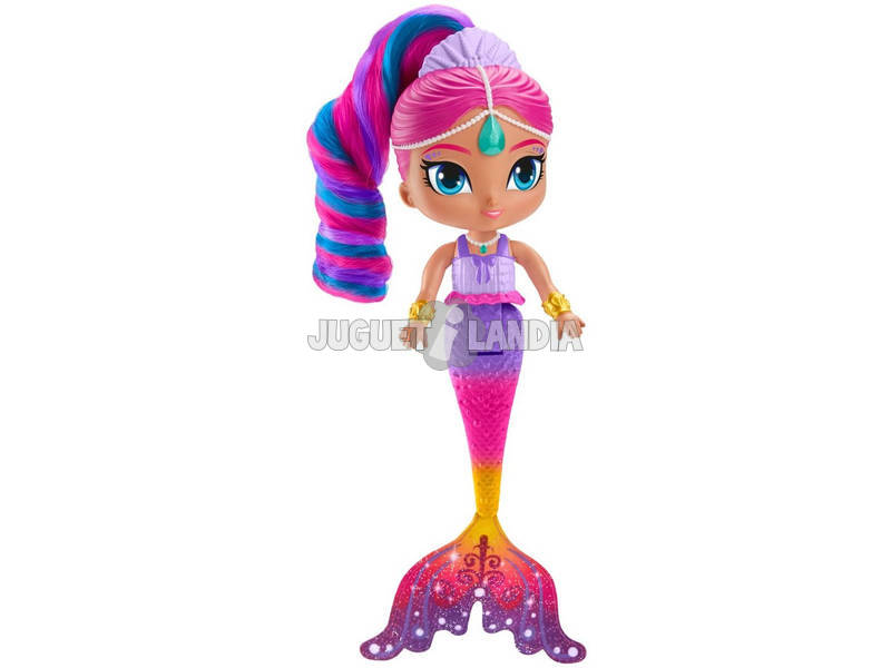 Shimmer and Shine Bambola Shimmer Sirena Mattel FHN41