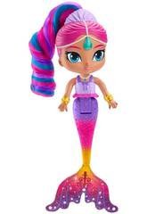 Shimmer and Shine Muñeca Shimmer Sirena Mattel FHN41