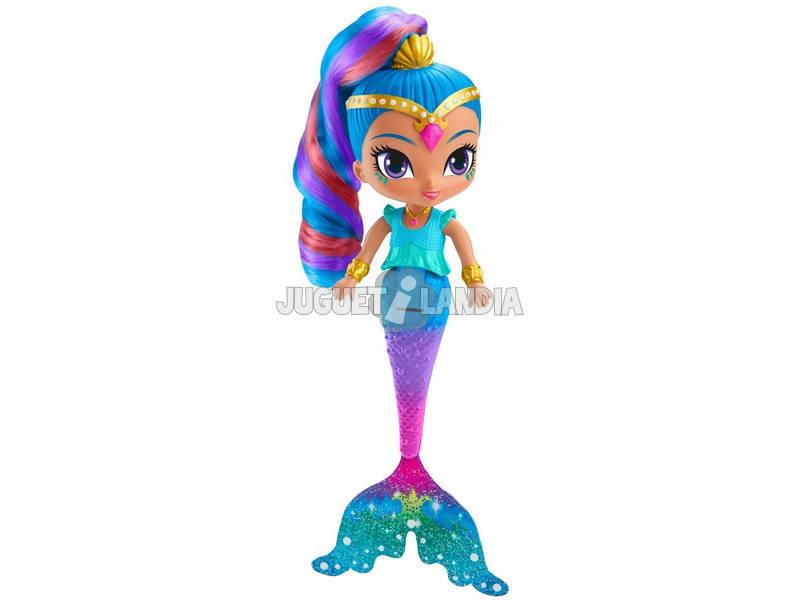 Shimmer et Shine poupée Shine Sirène Mattel FHN42