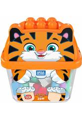 Megabloks Tigreblok 25 Piezas Mattel GCT48