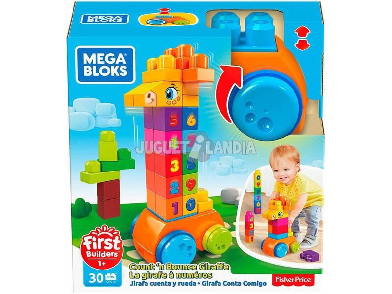 Megabloks Jirafa 123 Mattel GFG19