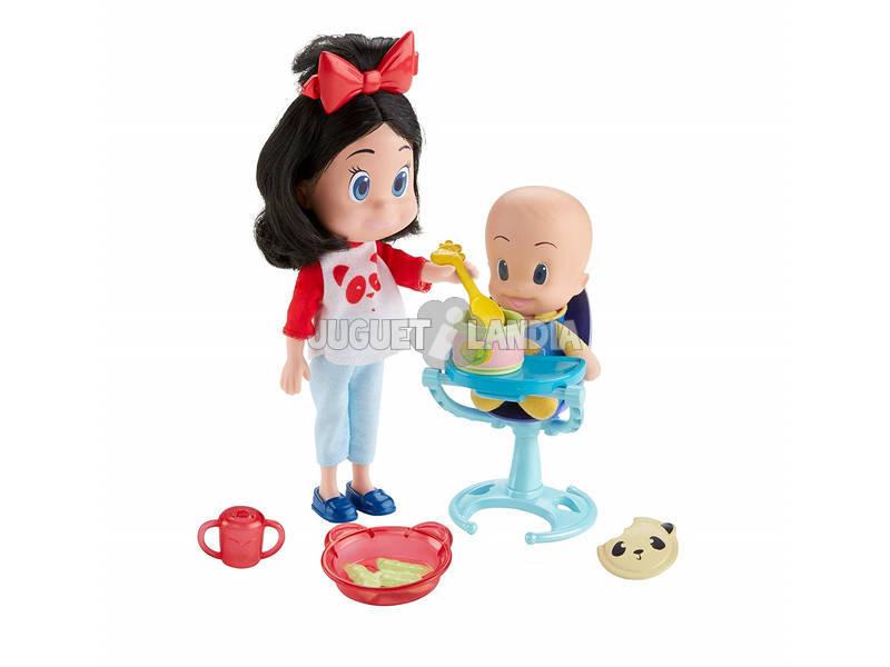 Familia Telerín Cleo y Cuquin ¡Vamos a Comer! Mattel FLW49