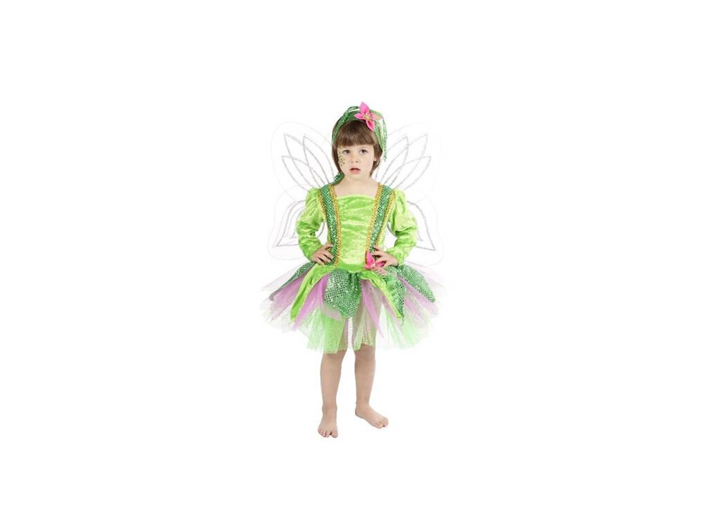 Costume Bambino Ninfa Del BoscoTaglia 1 (3-5 Años)