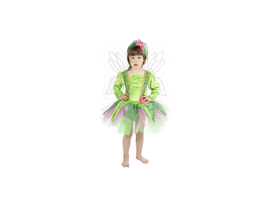 Disfarce Infantil Ninfa Da Floresta Talha 1 (3-5 Años)