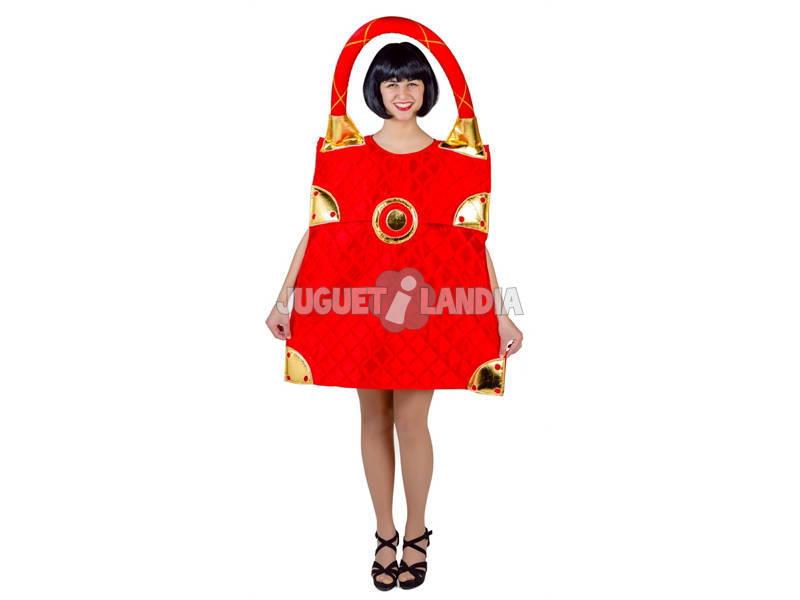 Disfraz Adulto Bolso Rojo Talla Única