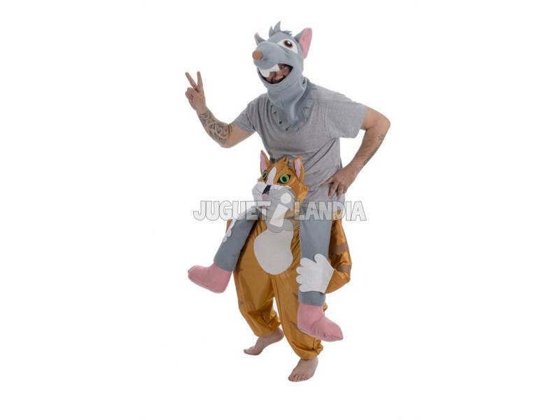 Costume Adulto Topo Sopra Gatto Taglia Unica Nines D'Onil D8953