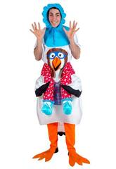 Kostüm Erwachsene Baby und Storch Einheitsgröße Nines D'Onil D8948